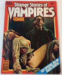 October 1979 Warren STRANGE STORIES OF VAMPIRES COMIX