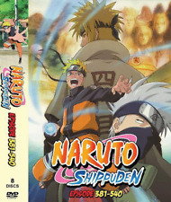 DVD ANIME NARUTO Vol.381-540 ~ENGLISH VERSION~ Reg All  BOX 3 + FREE EXPRESS UK