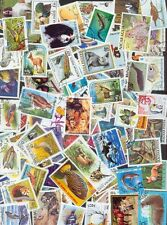 100 verschiedene Briefmarken Tiere different animals