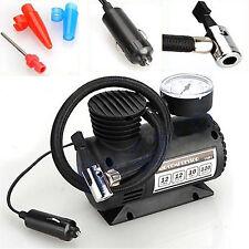 Portable Car Bike Electric Air Compressor Tire Tyre Inflator Pump 12 Volt 300PSI
