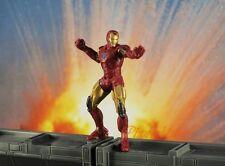 Marvel Superhero Iron Man Mark VI AVENGERS Status Figure Model Cake Topper K782