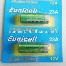 EUNICELL - Lot de 2 piles 23A A23 LRV08 L1028 RVO8 23A MS21 MN21 E23A