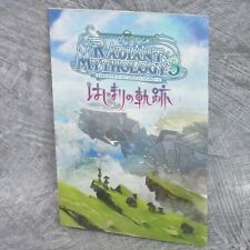 TALES OF THE WORLD RADIANT MYTHOLOGY 3 Hajimari +Bookmark Art Booklet Book Japan