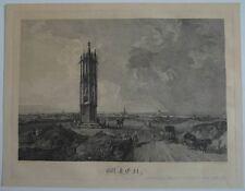 Jacob Hyrtl Josef Fischer,Panorama Wien, von der Spinnerin am Kreuz aus. 1840