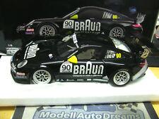 PORSCHE 911 997 gt3 Carrera Cup 2010 VIP MARRONE #90 Supercoppa Minichamps PMA 1:18