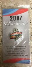 2007 NASCAR DAY PIN (STILL SEALED IN PACKAGE)