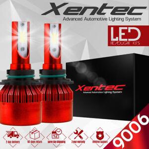 2017 CREE LED Headlight Kit 9006 HB4 9012 220W 6000K 22000LM Car Bulbs Pair HID