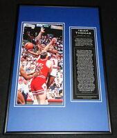 Isiah Thomas Detroit Pistons Framed 12x18 Photo Display