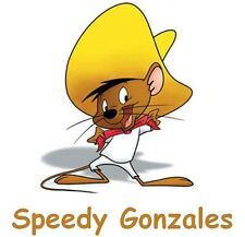 Slow Poke Rodriguez # 12 - 8 x 10 - T Shirt Iron On Transfer - Speedy Gonzales