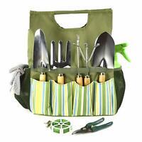 Essential Garden Tool Bag - Includes trowel, bulb trowel, weed popper, hand fork