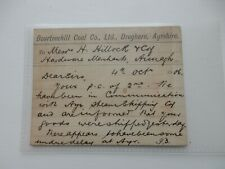 More details for vintage ayrshire postcard  dreghorn bourtreehill coal company  1906