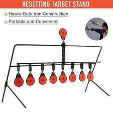 New listing Auto Reset Shooting Targets Stand w Portable Design for Bb Airsoft Pellet Guns