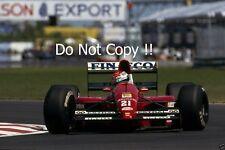 Emmanuel Pirro Scuderia Italia Dallara 191 Canadian Grand Prix 1991 PHOTO