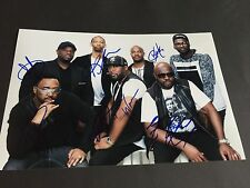 NATURALLY 7 DIE BAND OHNE BAND signed Photo 20x30 Autogramm KOMPLETT