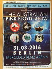 PINK FLOYD SHOW 2016 BERLIN  -  orig.Konzert Poster Plakat A1  New