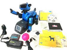 SONY AIBO ROBOT ERS210 ERS-210 CUSTOM METALLIC BLUE REFURBISHED GREAT CONDITION