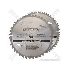 Hojas De Sierra Circular TCT 40, 60 T 2pk - 300 X 30 - 25, 20, 16 mm Anillos