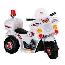 RIGO RCAR-MBIKE-WH Kids Ride-On Motorcycle