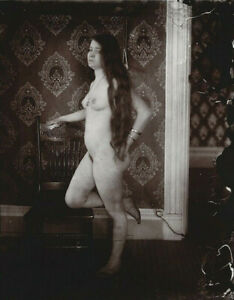 "E J Bellocq Nude Prostitute Storyville New Orleans -17""x22"" Fine Art Print-01447"