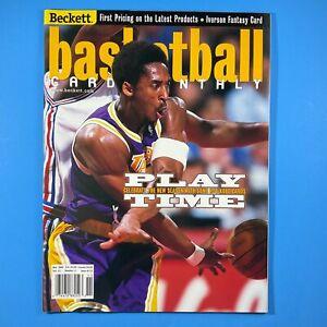 Beckett Basketball Card Monthly #112 Koby Bryant 1999 Sports Magazine
