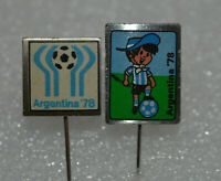 Argentina 78 FIFA Soccer Football World Cup 1978 official Logo Mascot vtg pin