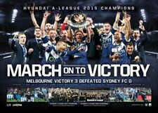 Collages Melbourne Victory Soccer Memorabilia