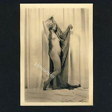 EXCEPTIONAL NUDE MODEL / AUSSERGEWÖHNLICHES AKT MODELL * Vintage 1920s Photo #2