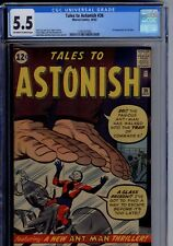 MARVEL:Tales to Astonish #36 3rd ANT MAN CGC GRADED 5.5  OFF WHITE/WHITE PAPER