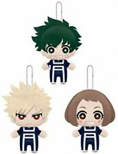 My Hero Academia Tomonui Plush UA Gym Uniform Suit ver. vol.1 Set of 3 Banpresto