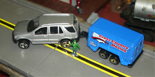 MAISTO - MERCEDES SUV & MOVING TRAILER - S TRAIN VEHICLE (2 in stock)