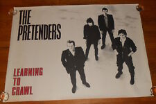 The Pretenders Learning to Crawl Huge Original 1983 Poster 36x48