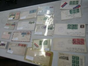 Nystamps E Old US Washington Franklin booklet pane Cover collection pd $400 Rare