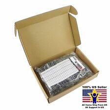 40value 600pcs Electrolytic Capacitor Assortment Box Kit US Seller KITB0005