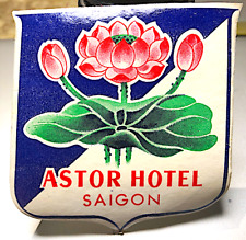 """VIETNAM Hotel """"Astor"""" in Saigon – FRENCH COLONIAL from the 1930s/40s – ORIGINAL!"""