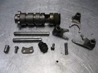Kawasaki KX125 KX 125 1974 74 Transmission Shift Drum Forks Trans Shafts OEM