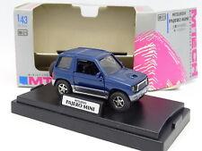 M Tech 1/43 - Mitsubishi Pajero Mini Bleu