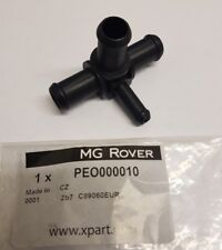 MGTF Coolant Pipe 4 Way Connector Adaptor PEO000010. Genuine MG Rover New Part