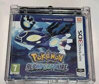 Pokémon Zaffiro Alpha - Nintendo 3DS Nuovo Di Zecca Sigillato Da Collezione PAL