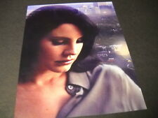 LANA DEL REY with city over shoulder 2015 photo image PROMO POSTER AD mint cond