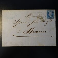 FRANCE NAPOLÉON N°14Ae LILAS LETTRE COVER PC 2199 MULHOUSE -> THANN
