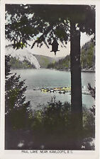 Paul Lake near KAMLOOPS British Columbia Canada Gowen Real Photo Postcard 34