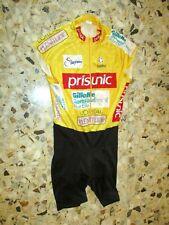 MAILLOT JAUNE Porté shirt jersey worn TOUR DE FRANCE FEMININ cyclisme ancien