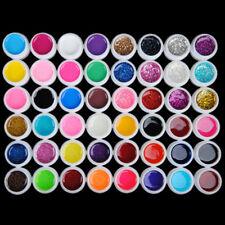 4 x12 Farbige UV Gel Nagel Set Deko Tipps Farbgel Nagelgel Pure&Strass Nail Art
