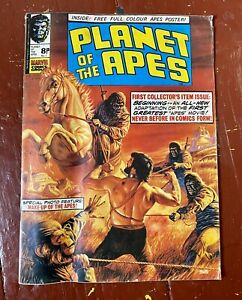 PLANET OF THE APES - Issue 1 UK Marvel 1974.