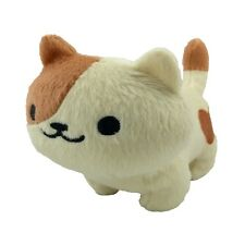 Neko Atsume Peaches Plush Keychain