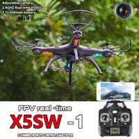 X5SW -1 Wifi FPV drohne mit HD-Kamera RTF Schwarz RC w/ 2.4G RC Quadcopter Drone