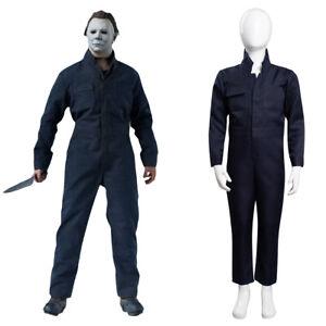 2021 Movie Kills Michael Myers Cosplay Costume Outfits Kids Children Halloween