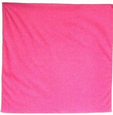 "Bandanna for Solid Magenta Pink on 100%Cotton #63 New Handmade 20"" X 20"""