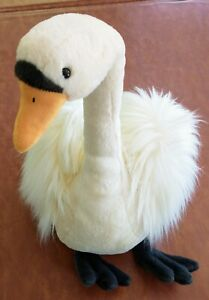 """19"""" JELLYCAT LONDON """"Solange Swan"""" Plush Stuffed Animal Toy new with tags"""