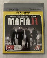 Mafia 2 (2010) Mafia II - Playstation 3 - Open W Action Sandbox - PS3 Game - VGC